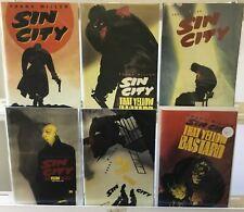 Sin City That Yellow Bastard (1995) #1-6 Vf/Nm Dark Horse Comic Run Lot