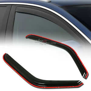 FOR 93-11 RANGER/MAZDA B-CAB SMOKE WINDOW VISOR SHADE/VENT WIND/RAIN DEFLECTOR