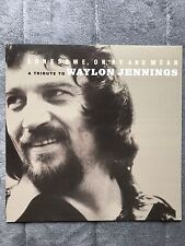 Waylon Jennings Lonesome, On'ry And Mean (Tribute To) RARE promo poster flat '03
