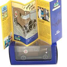 En Voiture Tintin - N51ambulance tintin en amérique boîte + certificat