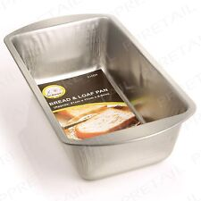 METAL BREAD BAKING TIN Deep 60mm Bake Tray/Mould/Pan/Dish Cake Meatloaf Pastry