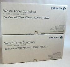 [1211*] 2x (Two) FUJI XEROX CWAA0869  WASTE TONER BOXES ( RRP>$120 )