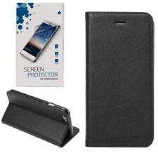 Magnetic Buch Tasche Schutzhülle Book Flip Case Wallet Handy Hülle + SCHUTZFOLIE