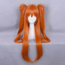80cm Orange Hair For Neon Genesis Evangelion EVA Soryu Asuka Cosplay Wig