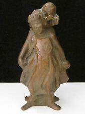 "JANE DEDECKER MINI BRONZE SCULPTURE ""STANDING TOGETHER"",5-1/4""T #72 OF 200"