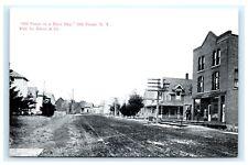 Old Forge NY on a Busy Day Adirondacks Postcard Glenn & Co. Main Street C10