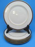 "5 LENOX Hamilton 8 3/8"" Salad Plates Presidential Collection China Bundle of 5"