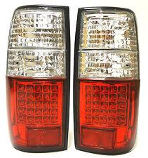 Toyota land cruiser hdj 80 Lámpara de luces de señal de cola trasero conjunto izquierda derecha Led Blanco