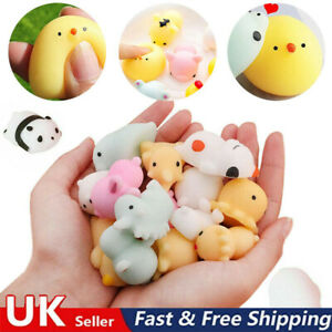 5/10/20 Cute Mochi Squishies Kids Fidget Toys Animal moshi Rilakkuma Cute Kawaii