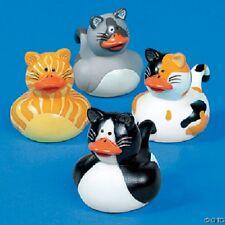 Cat Rubber Duckies - 4 duck