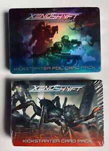 XenoShyft Onslaught Kickstarter Card Packs NEW & SEALED