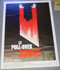Affiche de cinéma : LE PULL-OVER ROUGE de Michel DRACH