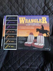 Chevy Silverado 1500 LD 19 Fia Wrangler Series 2nd Row Black Seat Covers TR42-94