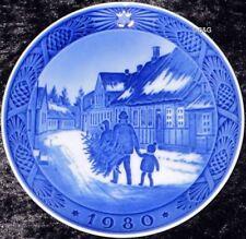1980 Royal COPENHAGEN PIATTO DI NATALE Top 1. scelta Bing Grondahl