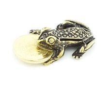 FENG SHUI Frosch  Frog  *  TALISMAN * Glücksbringer   auch für Setzkasten # 9