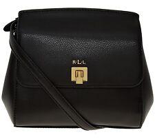 LAST ONE! Ralph Lauren new black leather mini / small shoulder bag / handbag