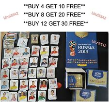 Panini FIFA World Cup Russia 2018 Team Football Stickers Group D Numbers 273-351