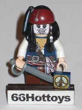 LEGO Pirates of the Caribbean 4181 Jack Sparrow Mini Figure NEW