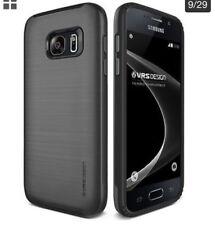 2X Samsung Galaxy S7 New VERGE Slim Shockproof Armor Case / Silver Steel