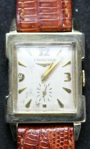 Longines 9LT 17j Wrist Watch w/ 10k Gold Filled Case - Runs