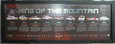 PETER BROCK KING OF THE MOUNTAIN 50 YEARS OF BATHURST HOLDEN LOWNDES PRINT FRAME