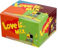 20psc full box Love is Assorted bubble chewing gum original retro sweets Topper
