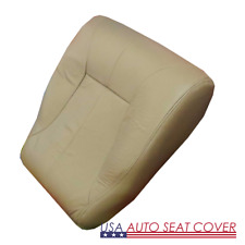 98-02 Dodge1500 2500 3500 Diesel Laramie Driver Bottom Leather Seat cover TAN