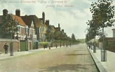 NEWMARKET THE AVENUE KING'S ENTRANCE TO JOCKEY CLUB ROOMS 1904  GEORGE SIMPSON