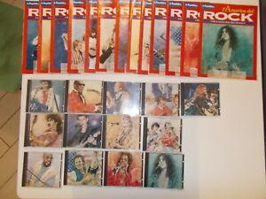 L'AMERICA DEL ROCK DE LA REPUBBLICA 13 CD + 13 FASCICOLI COMPLETA OTTIMA