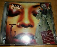 LAURNEA  ---  BETTA LISTEN ----  RARE INDIE R&B CD ALBUM