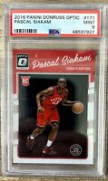 2016 Pascal Siakam Optic Rookie #171 PSA 9 *927