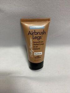 Sally Hansen Airbrush Legs Waterproof Leg Makeup, 02 Medium - Trial Size 0.75 Oz