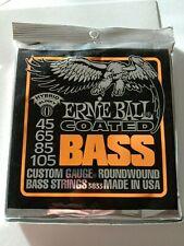 Ernie Ball Coated Hybrid Slinky 45-105 Nickel Wound Electric Bass Strings 3833x0