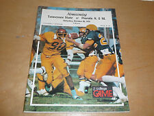 1979 FLORIDA A&M AT TENNESSEE STATE COLLEGE FOOTBALL PROGRAM  RICHARD DENT