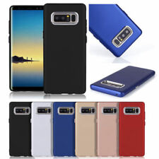 Metallic Silicone/Gel/Rubber Mobile Phone Cases, Covers & Skins for Samsung Galaxy Note 8