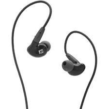 MEE audio Pinnacle P2 In-Ear Headphones with Detachable Cable (Black) Brand New