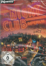CD-ROM + Nightclub Imperium + Nachtclub + Simulation + Bar + Disco +  Win 7