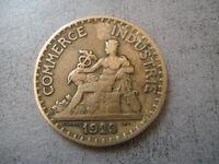 PIECE CHAMBRE DE COMMERCE ET INDUSTRIE DE FRANCE 1923 BON POUR 2 FRANCS
