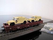 Märklin 46960 H0 4MFOR: Bundeswehrtransport mit 2 x Serval, neu in OVP