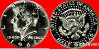 1968 S 40% Silver Kennedy Half Dollar Gem Proof