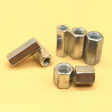 M3 - M20 PK2 Long Rod Coupling Hex Nut 304 Stainless Steel Select Size