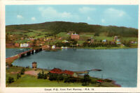 Canada Postcard - Gaspe - P. Q - From Fort Ramsay- Vintage Postcard *Free Ship*