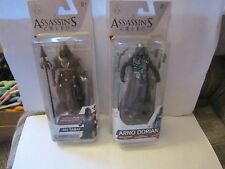 Assassins Creed Figure Lot Series 3 / 4 Ah Tabai Arno Dorian New Sealed MOC