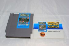 Wheel of Fortune -Family Edition (Nintendo Entertainment System, 1990) Game Book