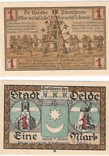 Germany 1 Mark 1920 Notgeld Oelde AU-UNC Banknote