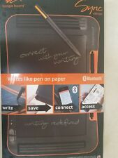 Sync LCD Ewriter Boogie Board 9.7 Inch Black Orange ST1020001 Notebooks Memo Pad