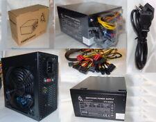 600W 500W 600 W Watt PC ATX Netzteil 20/24 3xSATA 3xIDE P4 P6 P6+2 P8 (P4+P4)