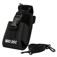 MSC-20C Nylon Universal Bag Holster Case For Motorola Yaesu IBT TYT Baofeng N8Y8