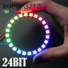 A05. WS2812 24Bit Ring RGB LED 5050 Built-in Integrated Driver per Arduino OS852