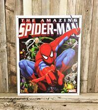 Amazing Spider-Man Spiderman Marvel Comic Book Metal Tin Sign Man Cave Decor